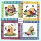 stickpackung winnie de pooh, vier seizoenen