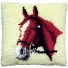 knüpfkissen paardenhoofd-1 (excl. knüpfhaken)