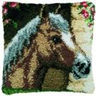 knüpfkissen paardenhoofd-2 (excl. knüpfhaken)