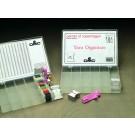 aufbewahrungsbox stickgarn 17 fächern (incl. 100 windkarten)