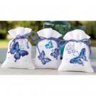 stickpackung kräutertütchen (3 st.) blauwe vlinders