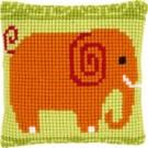 kreuzstichkissen olifant