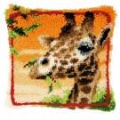 knüpfkissen giraffe