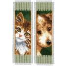 stickpackung lesezeichen (2 st.) hond en poes