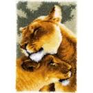 knüpfdecke leeuwinnenliefde
