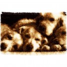 knüpfdecke hondenslaapje