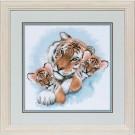 stickpackung tijger met jongen
